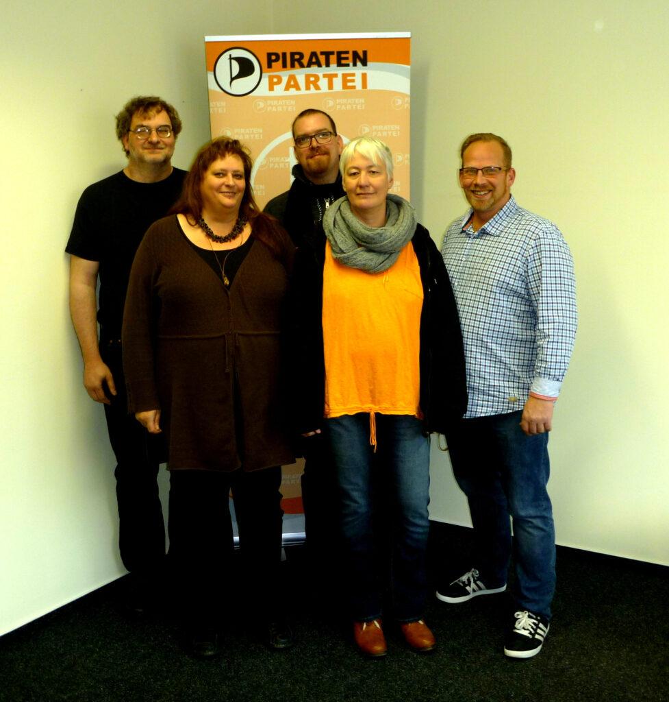 vlnr: Guido Körber, Kathrin Köber, Frank Behr, Angelika Meier, Kai Hamacher
